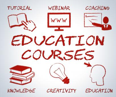 Free Stock Photo of Education Courses Means Web Site And Online Learning
