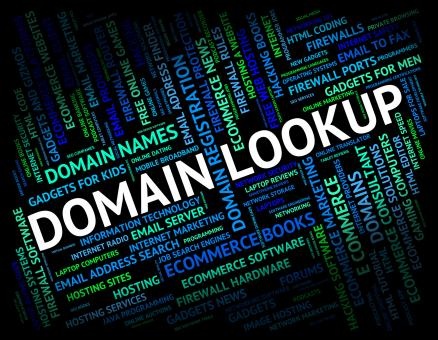 Free Stock Photo of Domain Lookup Means Realm Dominions And Research