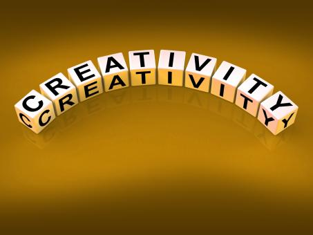 Free Stock Photo of Creativity Dice Mean Inventiveness Inspiration And Ideas