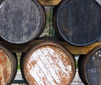 Free Stock Photo of Old Wooden Cask For Aging Wines