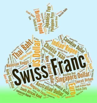 Free Stock Photo of Swiss Franc Means Foreign Exchange And Currencies
