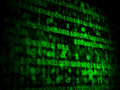 Free Stock Photo of Matrix Code Copyspace Shows Digital Numbers Programming Background