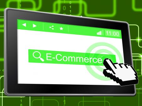 Free Stock Photo of E Commerce Means World Wide Web And Shopping