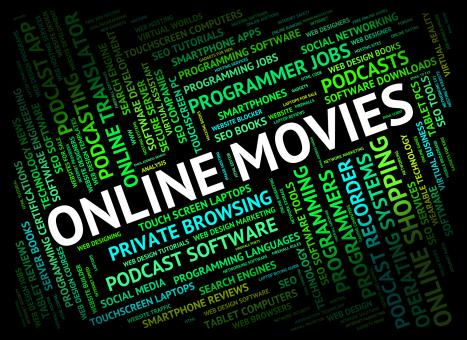 Free Stock Photo of Online Movies Represents World Wide Web And Cinema