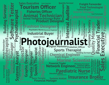 Free Stock Photo of Photojournalist Job Represents War Correspondent And Cameraman