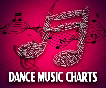 Free Stock Photo of Dance Music Charts Means Hit Parade And Disco