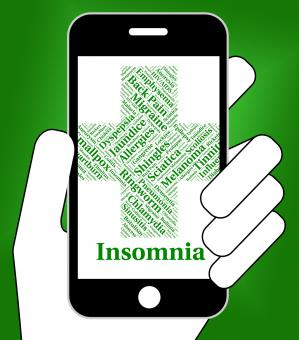 Free Stock Photo of Insomnia Illness Represents Poor Health And Ailment