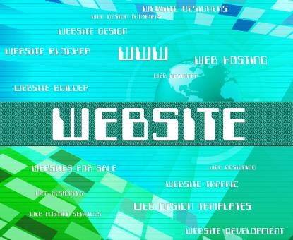 Free Stock Photo of Website Word Represents Domain Online And Text
