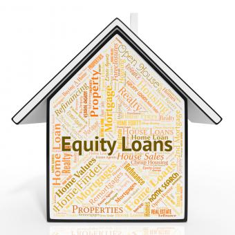 Free Stock Photo of Equity Loans Shows Capital Houses And Lending