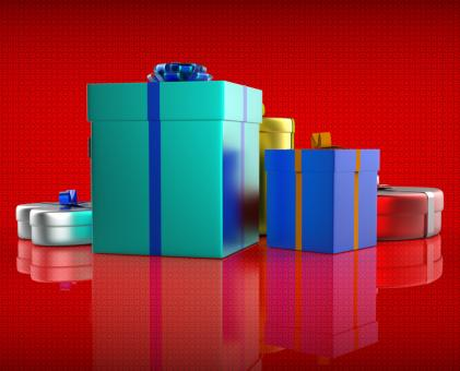 Free Stock Photo of Celebration Giftbox Indicates Joy Giftboxes And Occasion