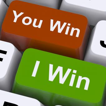 Free Stock Photo of You Or I Win Keys Show Gambling Or Victory