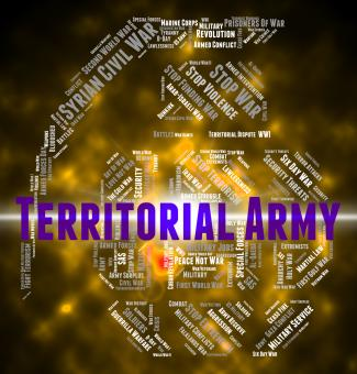 Free Stock Photo of Territorial Army Indicates Military Action And Volunteer