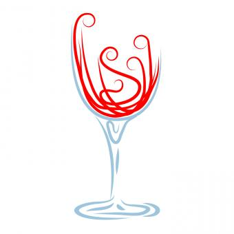 Free Stock Photo of Wine Glass Shows Celebrations Celebrate And Winery