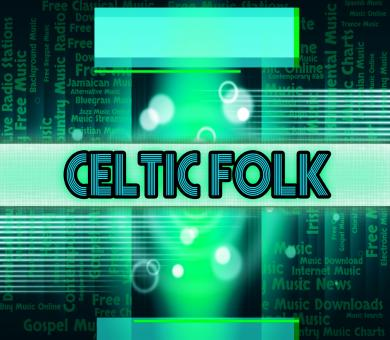 Free Stock Photo of Celtic Folk Means Sound Track And Audio
