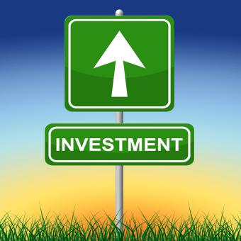 Free Stock Photo of Investment Sign Represents Invested Placard And Savings