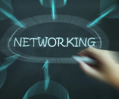 Free Stock Photo of Networking Diagram Means Making Contacts And Connections
