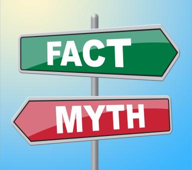 Free Stock Photo of Fact Myth Signs Indicates The Facts And Untrue