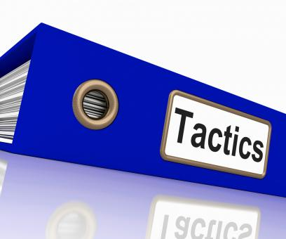 Free Stock Photo of Tactics File Indicates System Course And Techniques