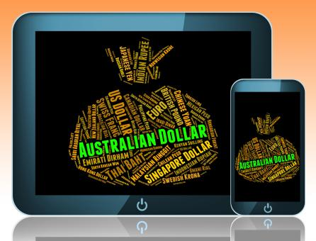 Free Stock Photo of Australian Dollar Means Currency Exchange And Banknote