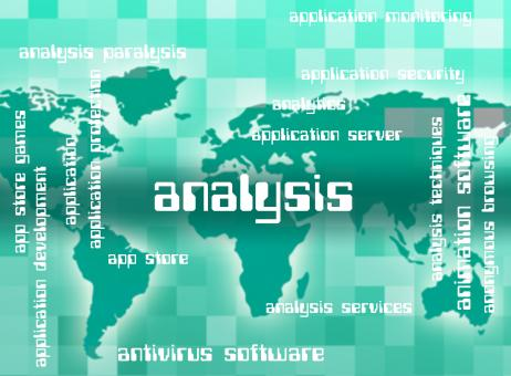 Free Stock Photo of Analysis Word Indicates Analytics Words And Analyzing