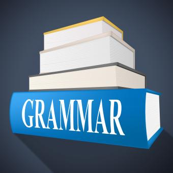 Free Stock Photo of Grammar Book Indicates Rules Of Language And Learning