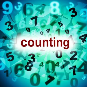 Free Stock Photo of Numbers Counting Represents One Two Three And Learn