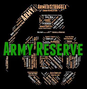 Free Stock Photo of Army Reserve Means Military Service And Force