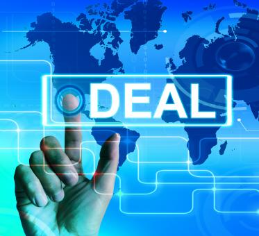 Free Stock Photo of Deal Map Displays Worldwide or International Agreement