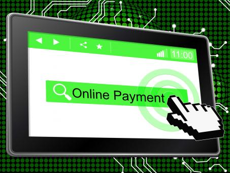 Free Stock Photo of Online Payment Means World Wide Web And Paying