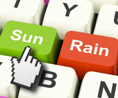 Free Stock Photo of Sun Rain Computer Mean Weather And Seasons