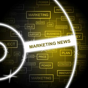 Free Stock Photo of Marketing News Indicates Email Lists And Article