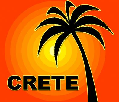 Free Stock Photo of Crete Holiday Means Go On Leave And Europe