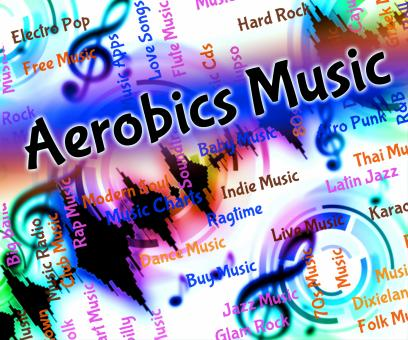 Free Stock Photo of Aerobics Music Indicates Sound Track And Audio