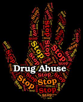Free Stock Photo of Stop Drug Abuse Means Abused Dependence And Addiction