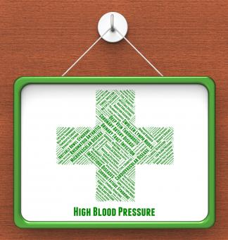 Free Stock Photo of High Blood Pressure Means Poor Health And Afflictions