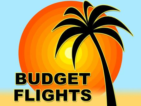 Free Stock Photo of Budget Flights Means Special Offer And Aeroplane