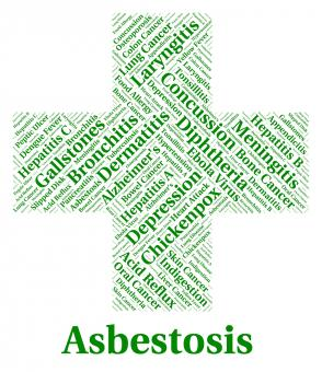 Free Stock Photo of Asbestosis Illness Indicates Lung Cancer And Ailments