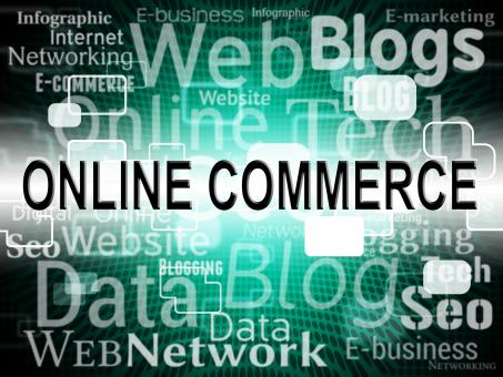 Free Stock Photo of Online Commerce Means Web Site And Buy
