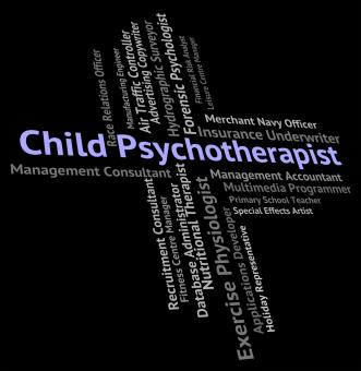 Free Stock Photo of Child Psychotherapist Represents Disturbed Mind And Career