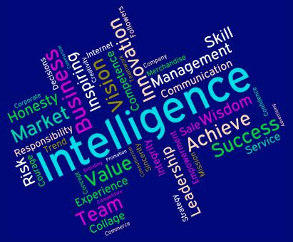 Free Stock Photo of Intelligence Words Represents Intellectual Capacity And Acumen