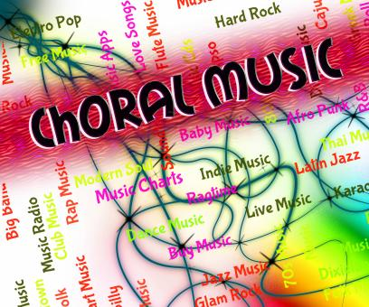Free Stock Photo of Choral Music Indicates Sound Track And Audio
