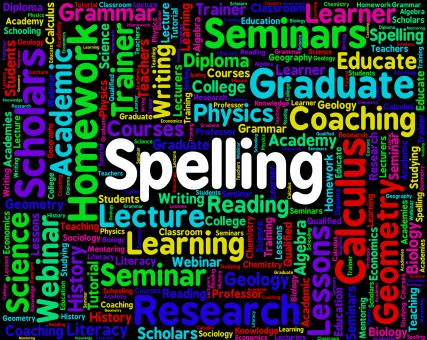 Free Stock Photo of Spelling Word Means Spellings Penmanship And Publisher