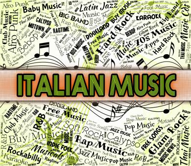 Free Stock Photo of Italian Music Indicates Sound Tracks And Acoustic