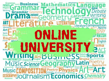 Free Stock Photo of Online University Means Educational Establishment And Colleges