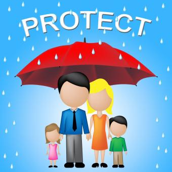Free Stock Photo of Protect Family Represents Take Care And Families