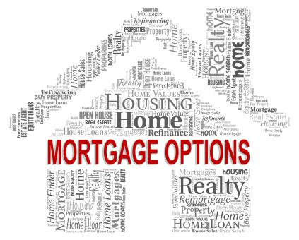 Free Stock Photo of Mortgage Options Shows Real Estate And Alternative