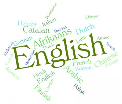 Free Stock Photo of English Language Represents Britain Languages And Text