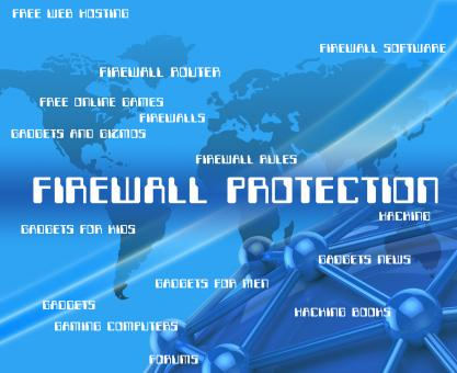 Free Stock Photo of Firewall Protection Represents No Access And Encrypt