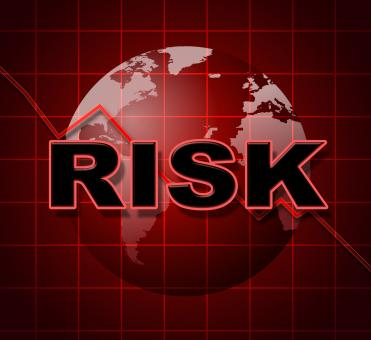 Free Stock Photo of Risk Graph Shows Infochart Beware And Risky