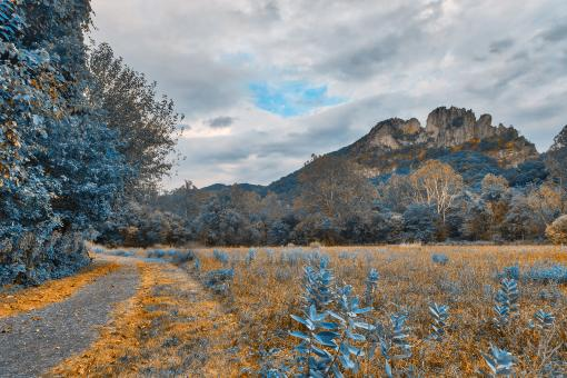 Free Stock Photo of Seneca Rocks Sapphire Trail - HDR